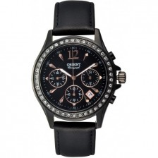 CHRONO QUARTZ WATCH ORIENT DRESSY FTW00001B0 TW00001B