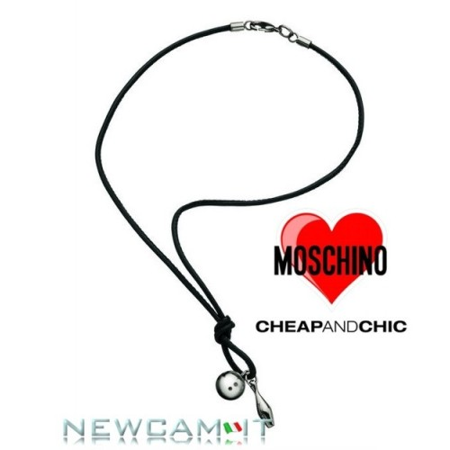 COLLANA MOSCHINO CHEAP AND CHIC STRIKE MJ0011 Listino € 95,00 TRASPORTO INCLUSO