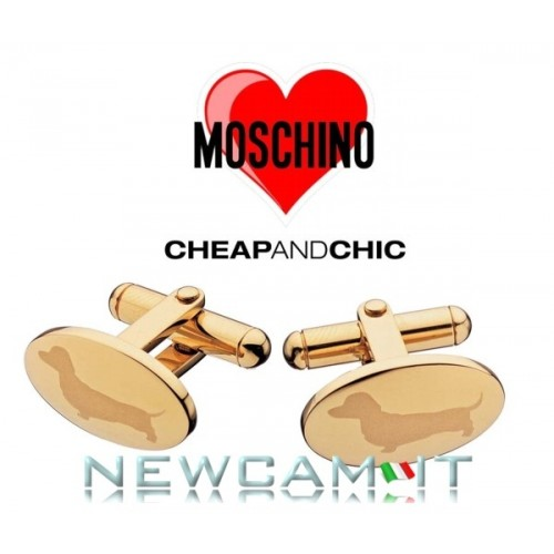 GEMELLI MOSCHINO CHEAP AND CHIC MY LITTLE PUPPY MJ0025 TRASPORTO INCLUSO