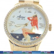 QUARTZ WATCH AVION PIN UP AP103W KEEP'EM FLIGHT PRICE LIST € 165,00