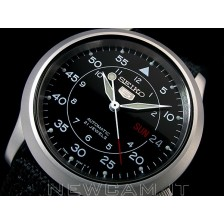 AUTOMATIC WATCH MILITARY SEIKO 5 21 JEWELS SNK809K2