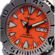 AUTOMATIC WATCH SEIKO SUPERIOR NEW MONSTER SRP309J WR200MT - last piece!