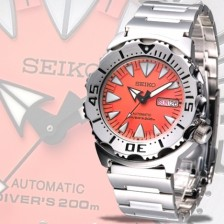 AUTOMATIC WATCH SEIKO SUPERIOR NEW MONSTER SRP309K WR200MT